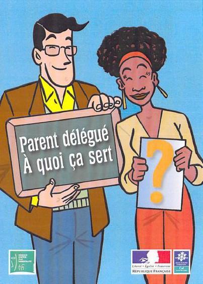 Plaquette Parent délégué