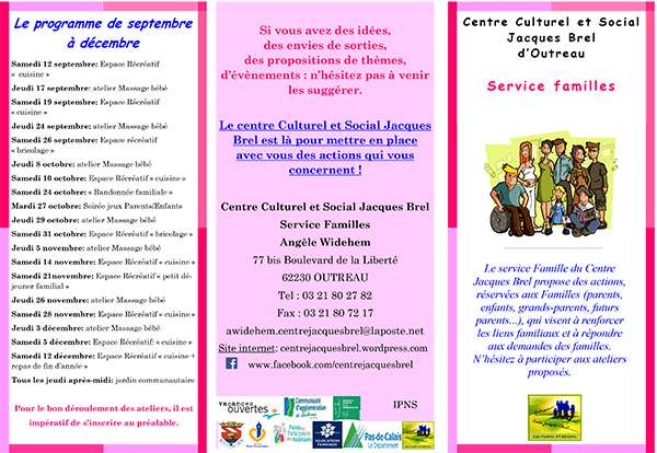 tract familles 1 2015 2016