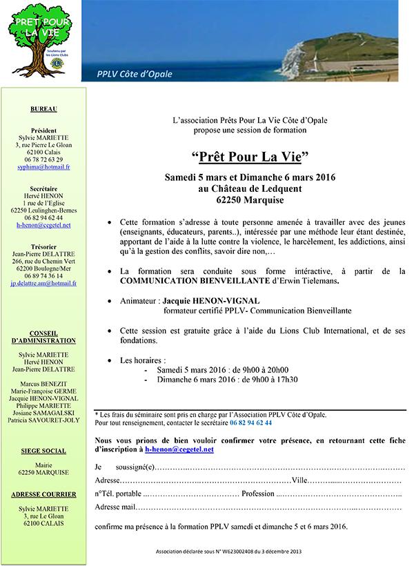 invitation pplv 5 et 6 mars 2016