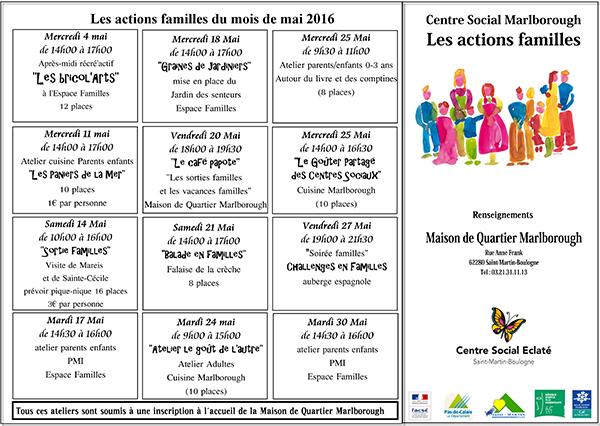 plaquette action familles mai 2016