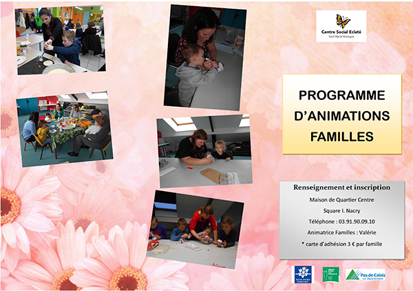 programme animation famille 2016-2
