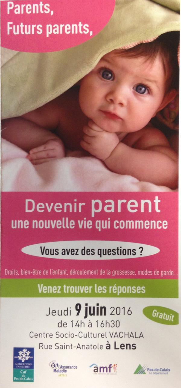 affiche forum primo parents juin 2016