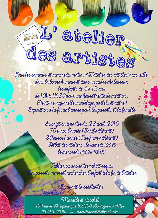 Atelier des artistes 1