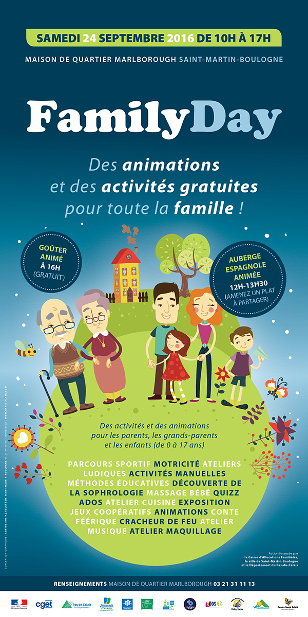 affiche family day