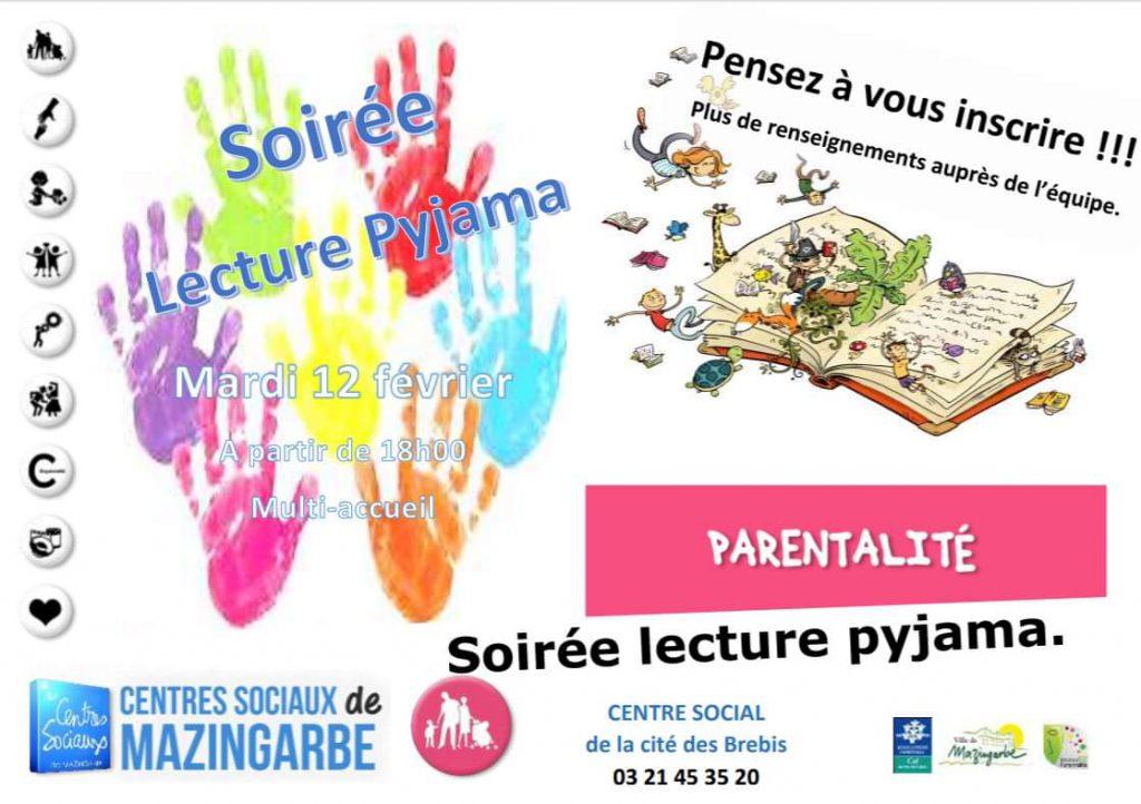 Lecture pyjama 12 février