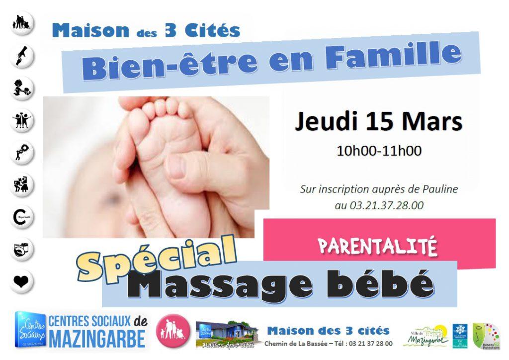 Massage bébé 15 mars 2019