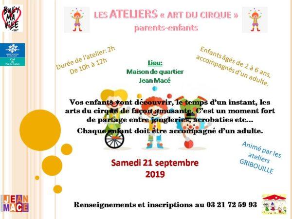 Affiche Cirque JPEG
