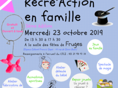 Affiche Récré'action en famille version finale