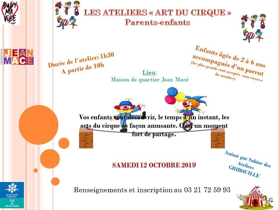 art du cirque 12 octobre