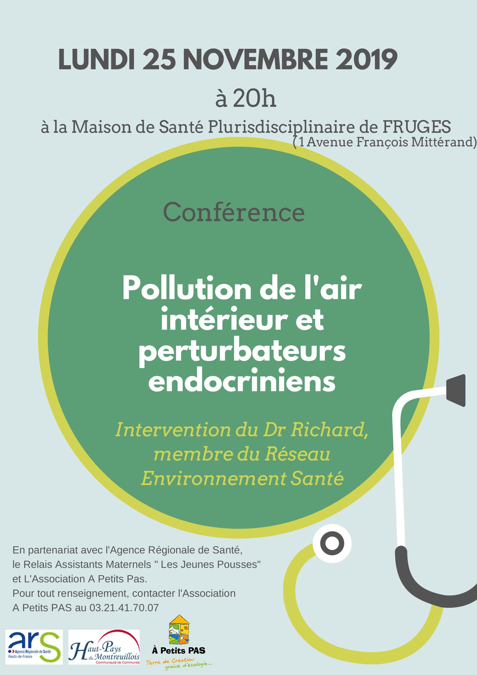 conférence 25 nov qualité de l'air intérieur