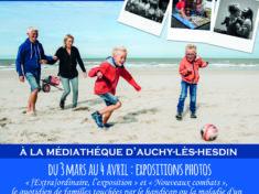 Affiche Mois EXTRAordinaire médiathèque auchy les hesdin